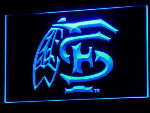 Florida State Seminoles Football LED Neon Sign b303 - Blue