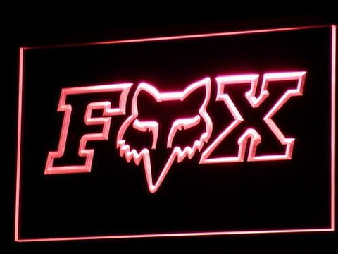Fox Racing LED Neon Sign b304 - Red