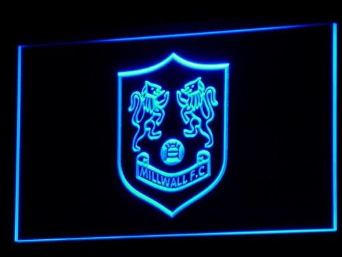 Bermondsey Millwall FC Football LED Neon Sign b305 - Blue