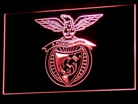 SL Benfica Lisbon Football LED Neon Sign b306 - Red