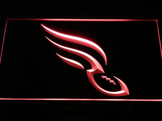 Philadelphia Soul Football LED Neon Sign b368 - Red