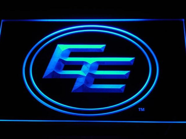 Edmonton Eskimos NFL LED Neon Sign b415 - Blue