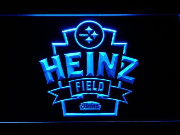 Pittsburgh Steelers Heinz Field LED Neon Sign b809 - Blue