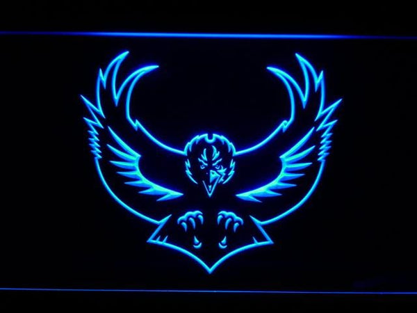 Baltimore Ravens 1996-1998 Raven LED Neon Sign b986 - Blue