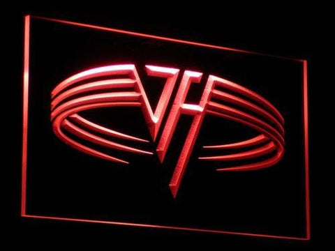 Van Halen Band LED Neon Sign c041 - Red