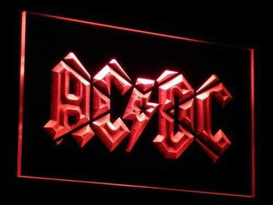 AC/DC Band LED Neon Sign c079 - Red