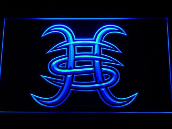 Heroes Del Silencio Spanish Rock Band LED Neon Sign c152 - Blue