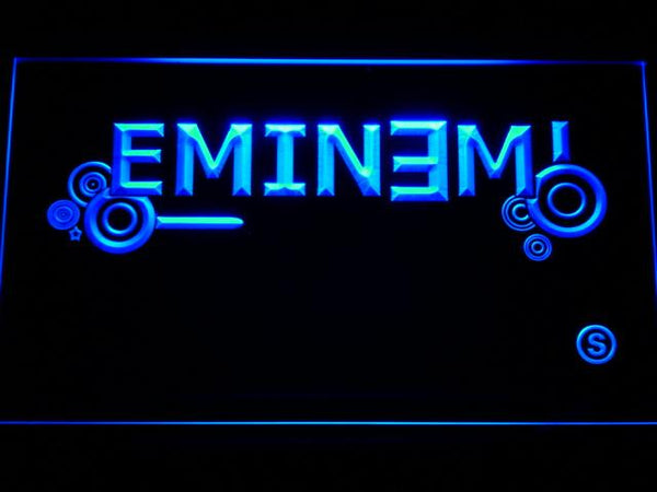 Eminem Music LED Neon Sign c183 - Blue