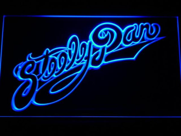 Steely Dan American Rock Band LED Neon Sign c188 - Blue