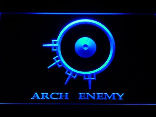 Arch Enemy Death Metal Band LED Neon Sign c211 - Blue
