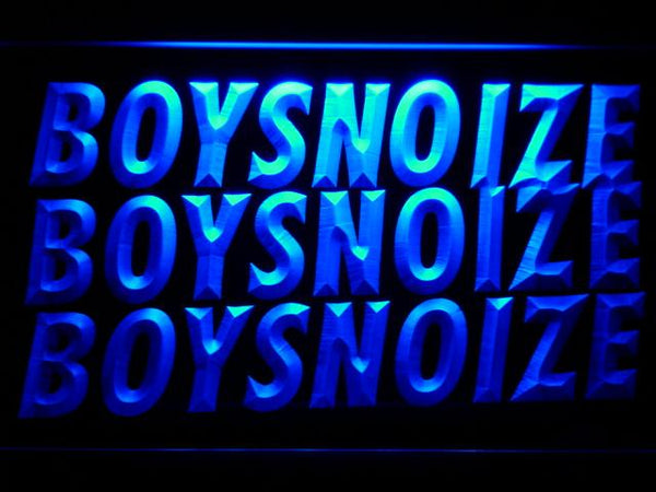 Boys Noize DJ LED Neon Sign c216 - Blue