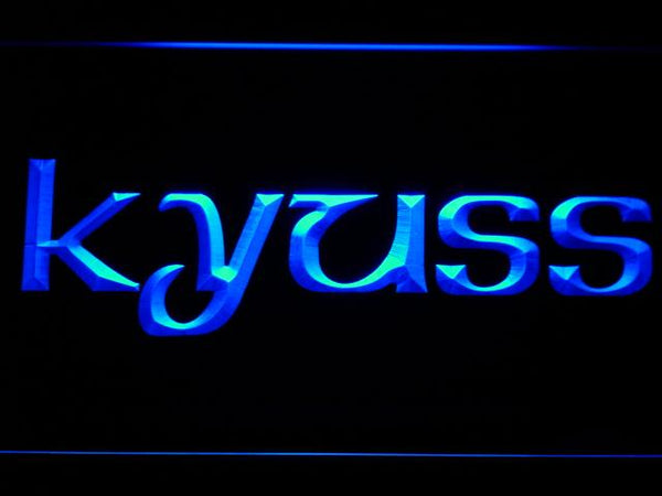 Kyuss American Rock Band LED Neon Sign c219 - Blue