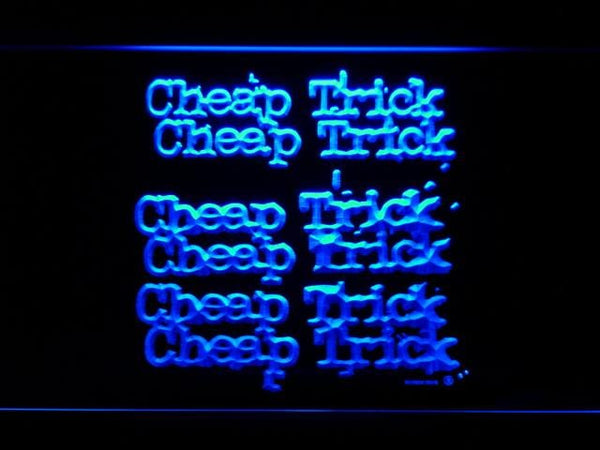 Cheap Trick Music LED Neon Sign c226 - Blue