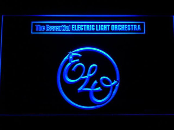 Electric Light Orchestra Band LED Neon Sign c233 - Blue