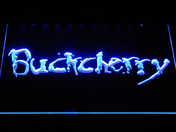 Buckcherry Music LED Neon Sign c262 - Blue