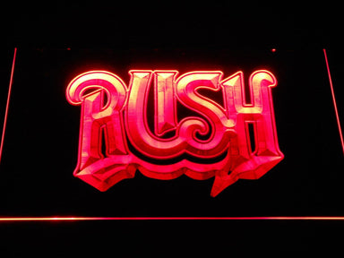 Rush Band LED Neon Sign c268 - Red