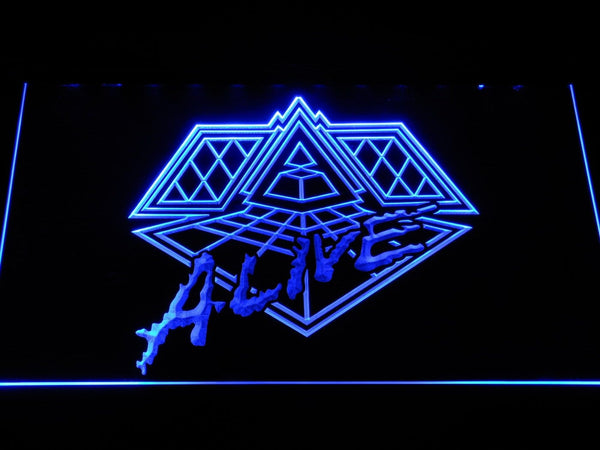 Daft Punk Alive  LED Neon Sign c293 - Blue