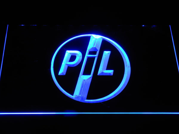 Public Image Ltd Band LED Neon Sign c306 - Blue