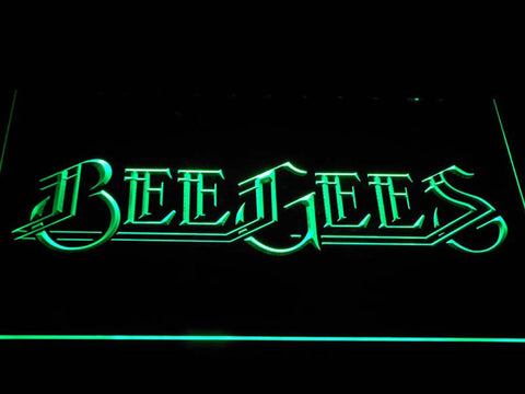 Bee Gees Pop Music LED Neon Sign c403 - Green