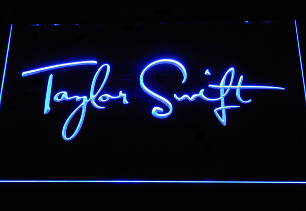 Taylor Swift Music LED Neon Sign c454 - Blue