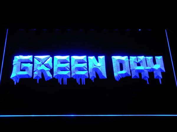 Green Day 21st Century Breakdown LED Neon Sign c493 - Blue