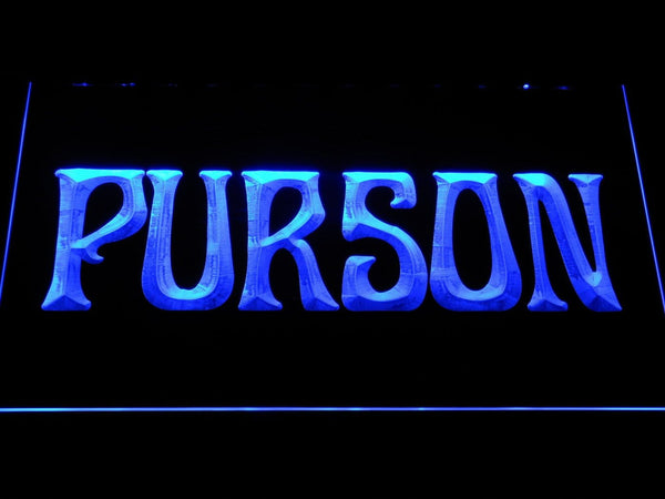 Purson Rock Band LED Neon Sign c509 - Blue