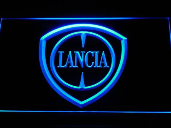 Ford Lancia LED Neon Sign d009 - Blue
