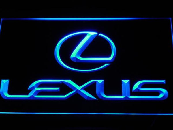 Lexus Automobile LED Neon Sign d011 - Blue