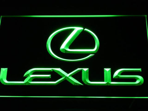 Lexus Automobile LED Neon Sign d011 - Green