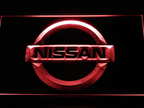 Nissan Car LED Neon Sign d026 - Red