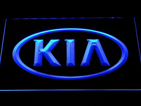 KIA Motors LED Neon Sign d047 - Blue