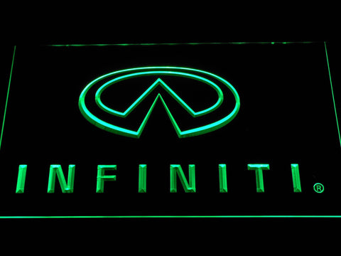 Infiniti Nissan Motors LED Neon Sign d048 - Green