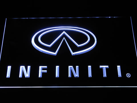 Infiniti Nissan Motors LED Neon Sign d048 - White
