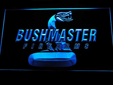 Bushmaster Firearms Hunting Logo LED Neon Sign d230 - Blue