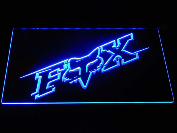 Fox Racing Accessories LED Neon Sign d358 - Blue