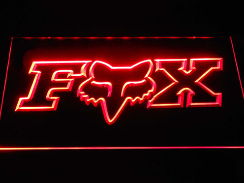 Fox Racing LED Neon Sign d388 - Red
