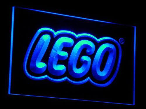 Lego Game LED Neon Sign e005 - Blue