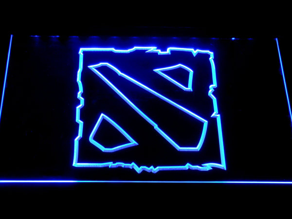 Dota 2 Games LED Neon Sign e116 - Blue