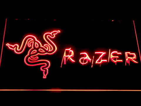 razerlogo led neon sign with 7 colors and on off switch on sale