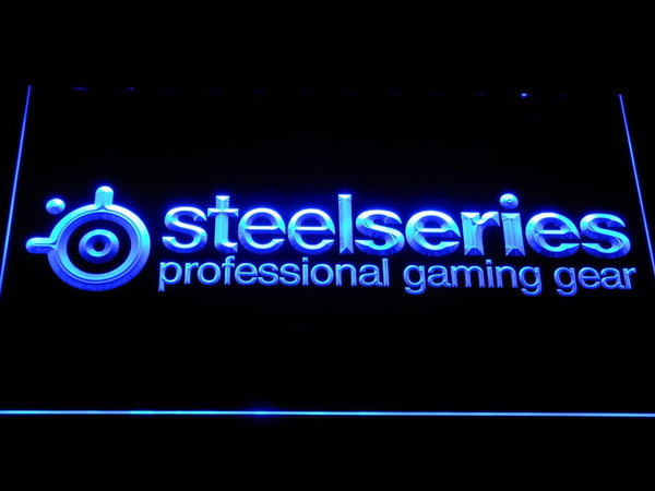 Steelseries Gaming Peripherals LED Neon Sign e138 - Blue