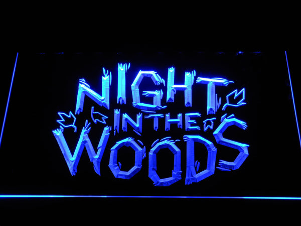 Night In The Woods TV Game LED Neon Sign e150 - Blue