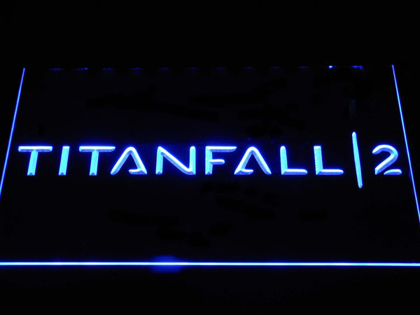 Titanfall 2 LED Neon Sign e152 - Blue