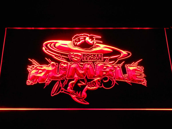 Rocket League Ready to Rumble LED Neon Sign