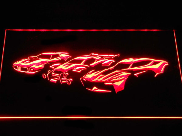 Rocket League Silhouettes LED Neon Sign