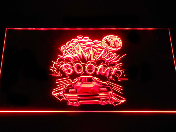 Rocket League BOOM Explosion Cloud LED Neon Sign