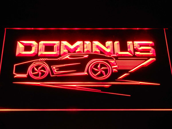 Rocket League Dominus LED Neon Sign