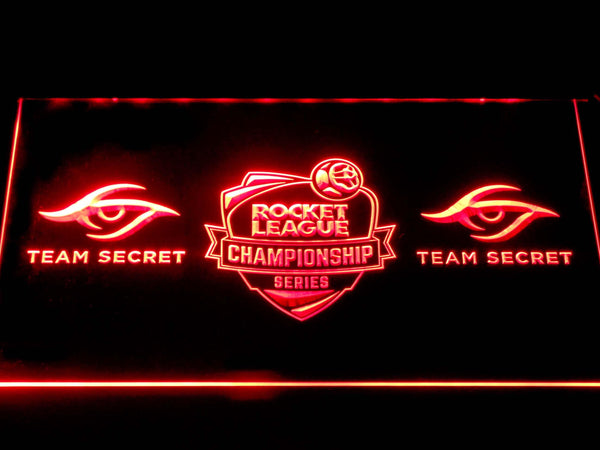Rocket League Team Secret LED Neon Sign