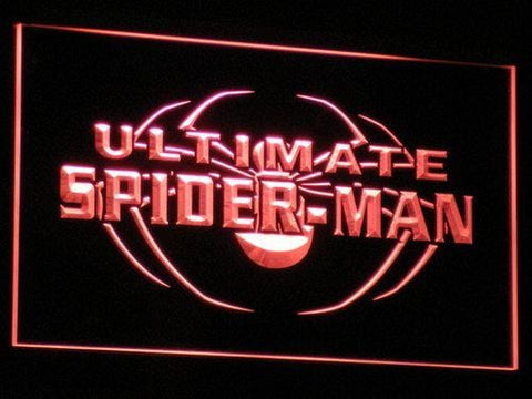 Spider-Man Ultimate LED Neon Sign g003 - Red