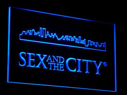 Sex And The City TV Series LED Neon Sign g008 - Blue