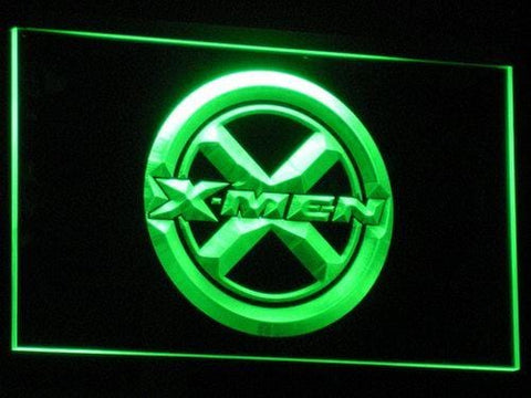 X-Men Logo LED Neon Sign g040 - Green